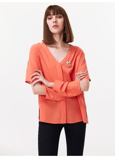 Twist Gömlek Oranj